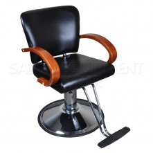 Wooden Armrest Styling Chair