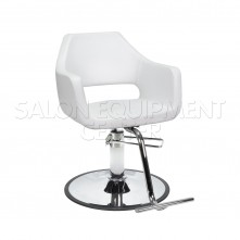 Edna White Styling Chair