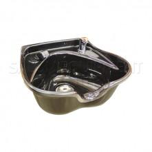 Heart Shaped Shampoo Bowl Black