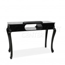 Pure Elegance Manicure Table Black