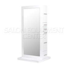 Penelope Double Sided Styling Station in Gloss White