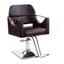 Maroon Salon Styling Chair