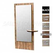 Mr Nice Salon Styling Station Dark Oak