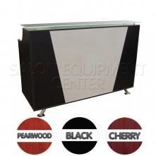 La Volpe Two Tone Salon Reception Desk