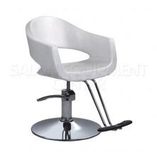 Elsa White Salon Styling Chair