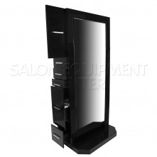 Alpha Modern Double Sided Styling Station BLACK