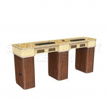Osaka Double Manicure Table