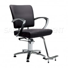The Nova Edge Black Styling Chair With Star Base