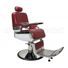 Capone Crimson Barber Chair