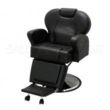 Black Silk Barber Chair