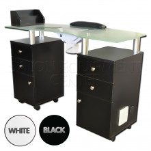 Vented Top Manicure Table