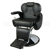 Robotica Black and Gray Barber Chair