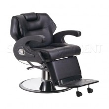 Katana Black Barbershop Chair