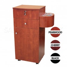 Professional Styling Station Cabinet With Holders