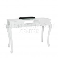 Pure Elegance Manicure Table White