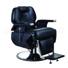 Miya Black Barber Chair