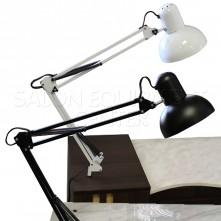 Swing Arm Desk Lamp (Black or White)