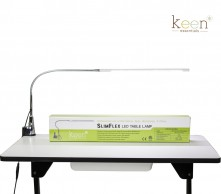 Keen Slimflex White Led Table Lamp
