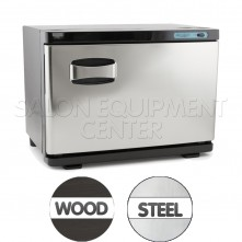 TWL-261 Wood Grain or Stainless Steel 20L Professional Towel Warmer