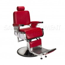Capone Barber Chair Red