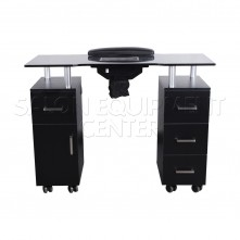 Mercedes BLACK Manicure Table With Fan
